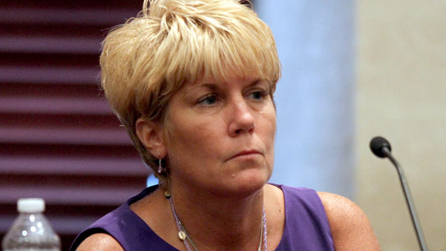 PHOTO:Cindy Anthony testifies on day 26 of Casey Anthonys 1st-degree murder trial at the Orange County Courthouse in Orlando, Fla. on June 23, 2011.