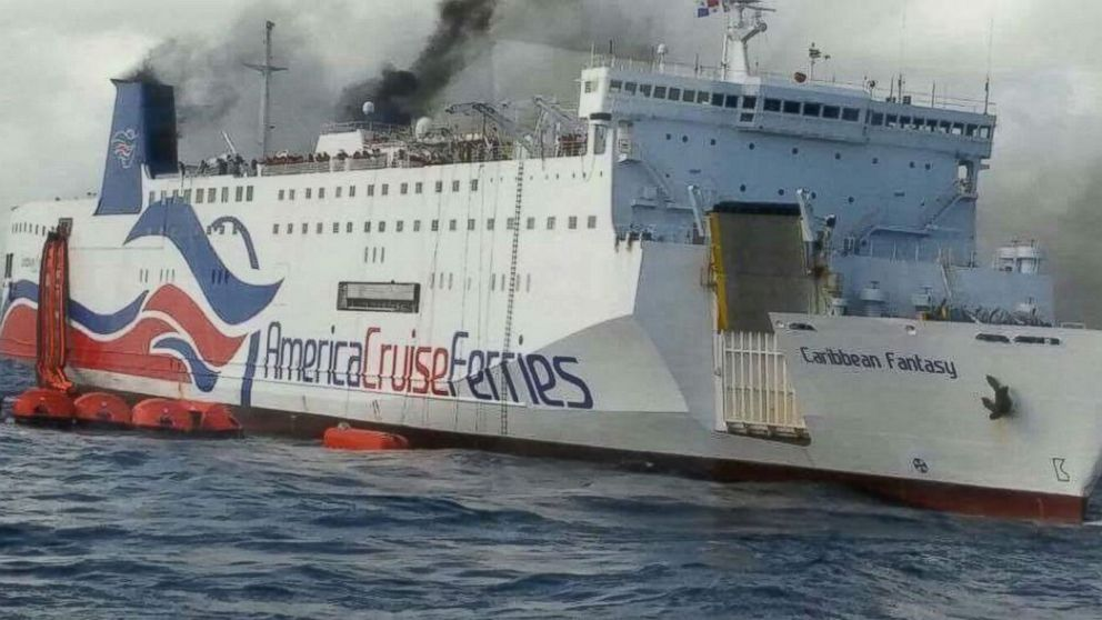 More Than 500 Passengers Evacuated After Fire In Ship S