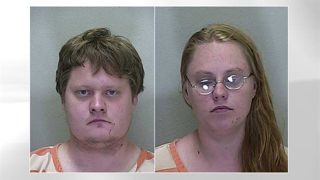 PHOTO: Darren Hagerman and Jessica Huggard, 22, were arrested and charged with burglary and grand theft after police caught them with a van full of stolen Frito-Lay brand products.
