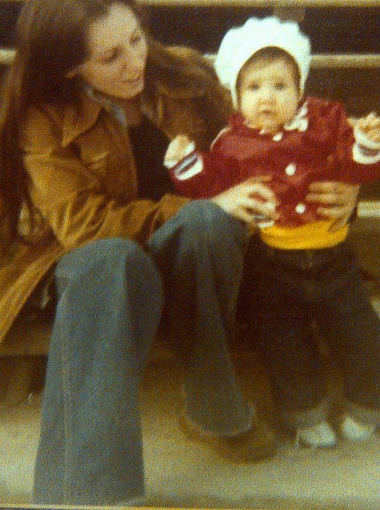 Deborah Garza is seen here with her daughter Mandy as a toddler.
