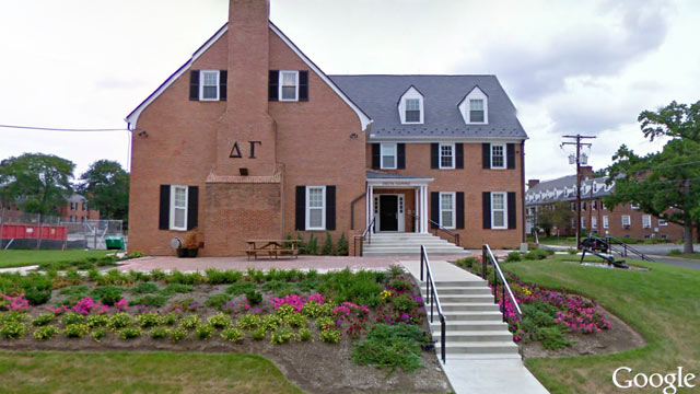 PHOTO: A leaked email from a member of Delta Gamma sorority chapter at University of Maryland has gone viral.