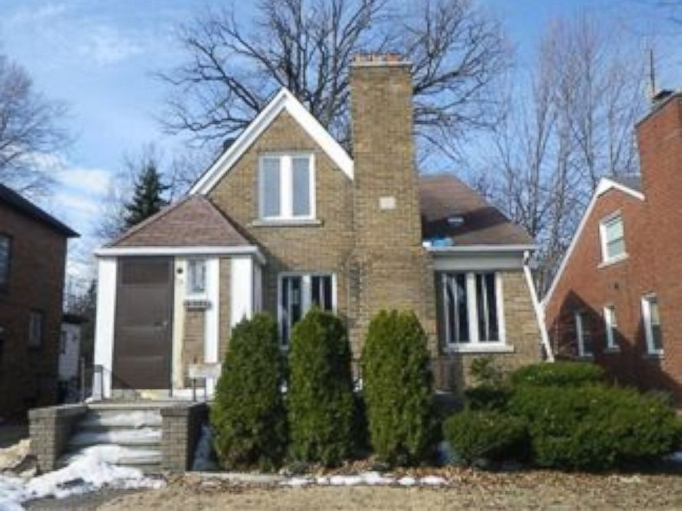 PHOTO: A home for sale in Detroit for $1000 through the Building Detroit organization.