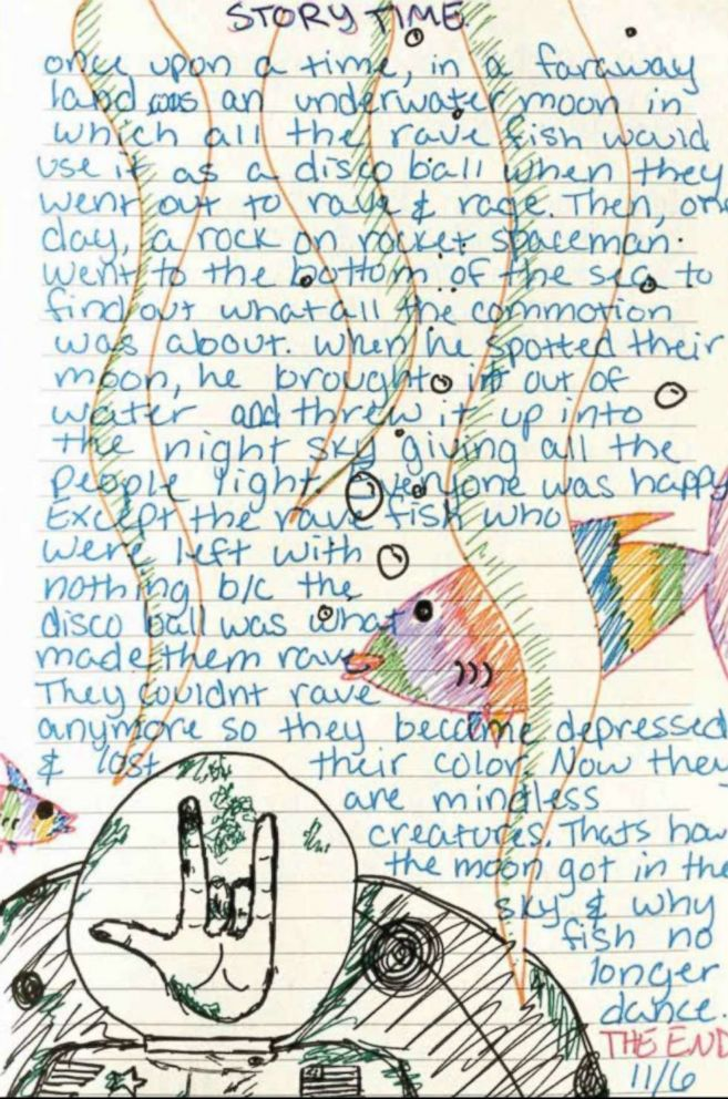 A sample from Victoria Siegels diary, as published in the book, Victorias Voice: Our Daughters Losing Battle with Drug Abuse.