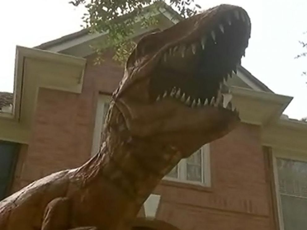 PHOTO: One of Nancy Hentschels dinosaurs is pictured.