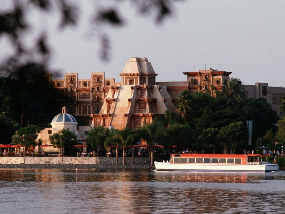 PHOTO: Joe Rohde, executive designer and vice president, Creative Walt Disney Imagineering, started as a model designer and scenic painter in 1980, working on the Mexico and Norway pavilions at Epcot. Seen here: an undated photo of the Norway Pavilion.