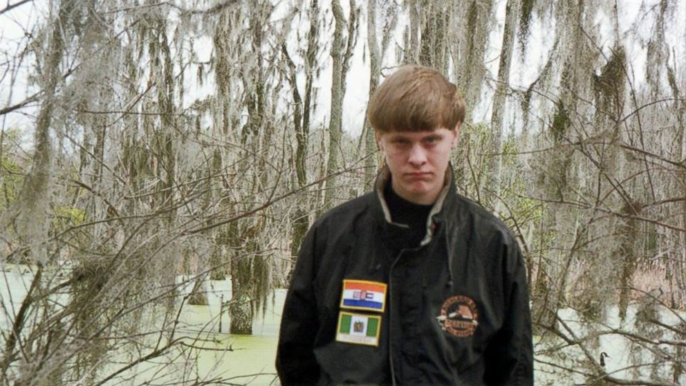 An undated photo that is believed to be of Dylann Roof.