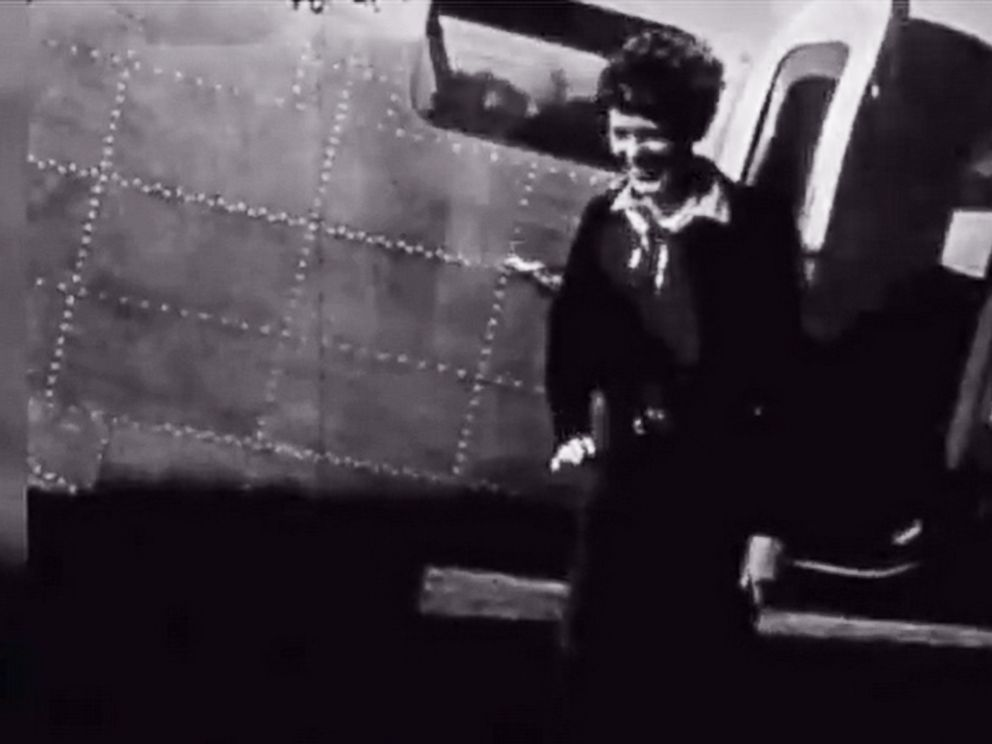 PHOTO: Footage had recently been rediscovered from the final photo shoot that Amelia Earhart did before her ill-fated round-the-world journey in 1937.