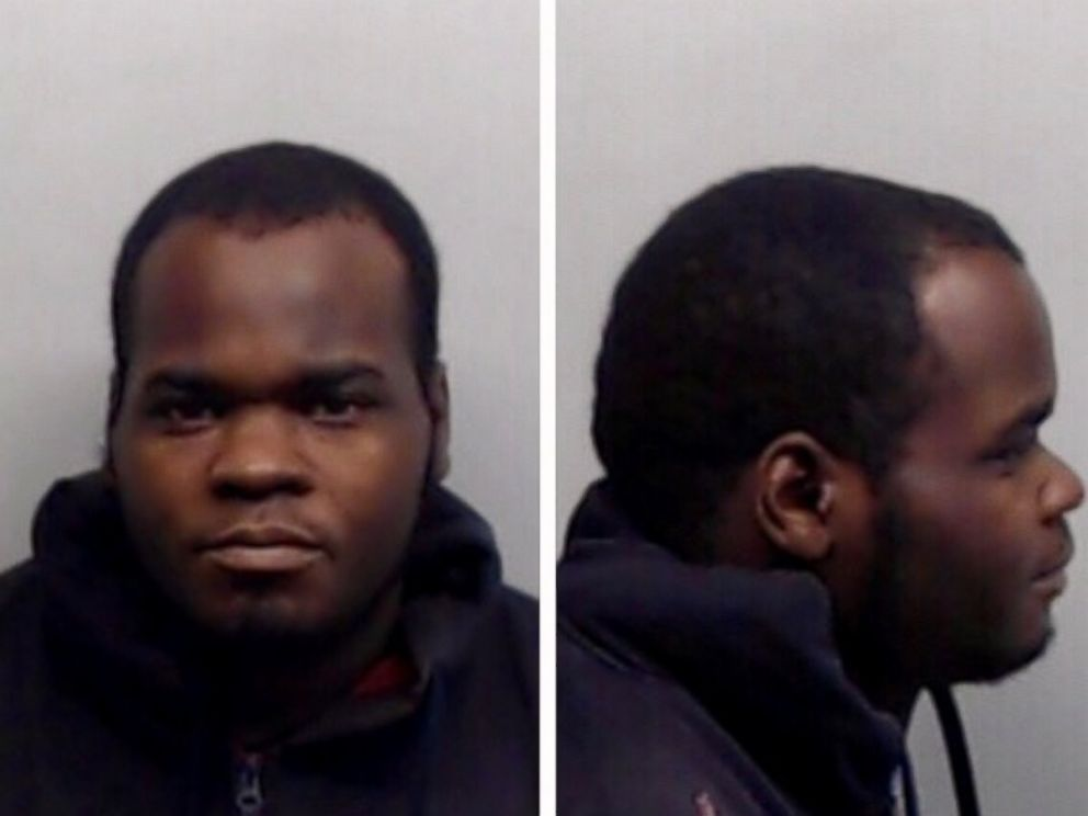PHOTO: A 2014 mug shot of Basil Eleby, who was arrested on March 31, 2017, in connection a fire that collapsed a portion of an Atlanta highway a day earlier.