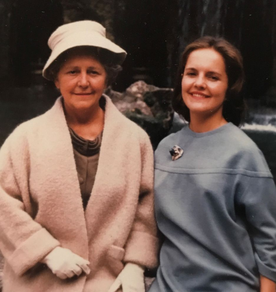 Nancy Haysom (right) is seen here with her mother (left) in this undated family photo.