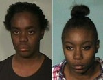 PHOTO: Karimah Aisha Elkins, left, DeMarquises mother and Sabrina Elkins, right, DeMarquises sister were arrested for allegedly tampering with evidence.