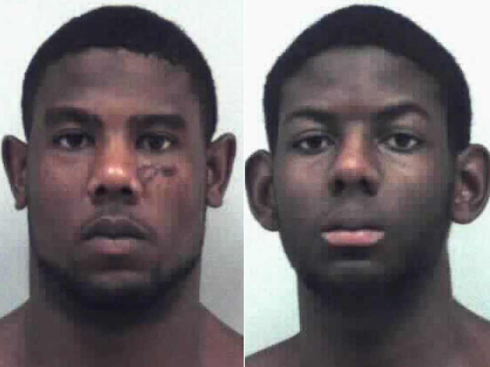 PHOTO: Christopher Ervin, 22, and his brother Cameron, 17, are seen in undated booking photos released by the Gwinnett County Sheriffs Office.