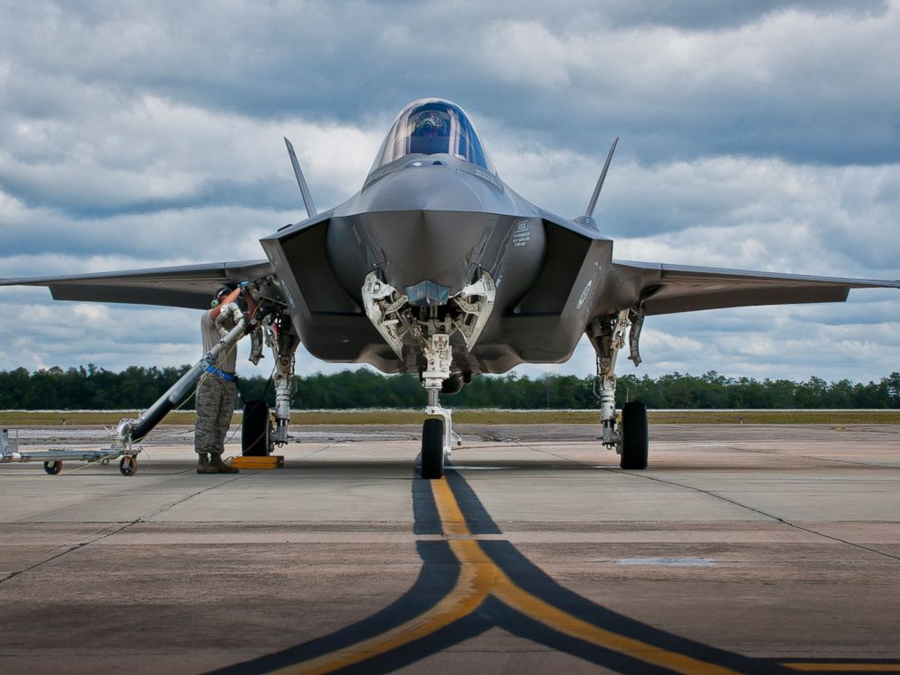 PHOTO: An F-35A Lightning II is refueled on Sept. 26, 2014 at Eglin Air Force Base, Fla.