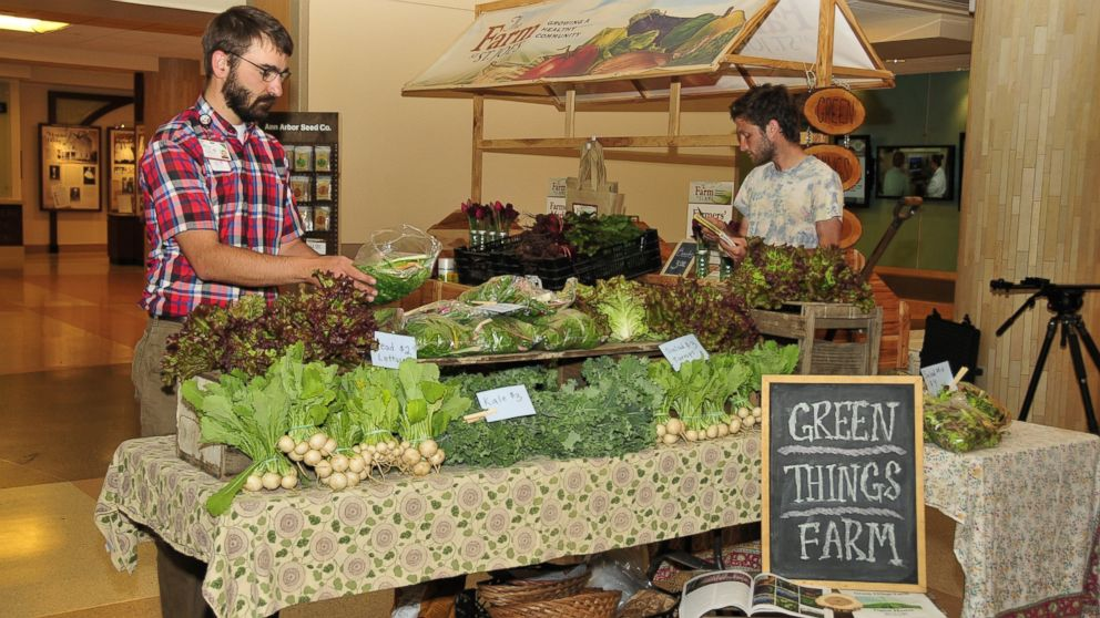 The 25 acre farm owned by Saint Joseph's Hospital in Michigan provides produce to patients and the community all year long.