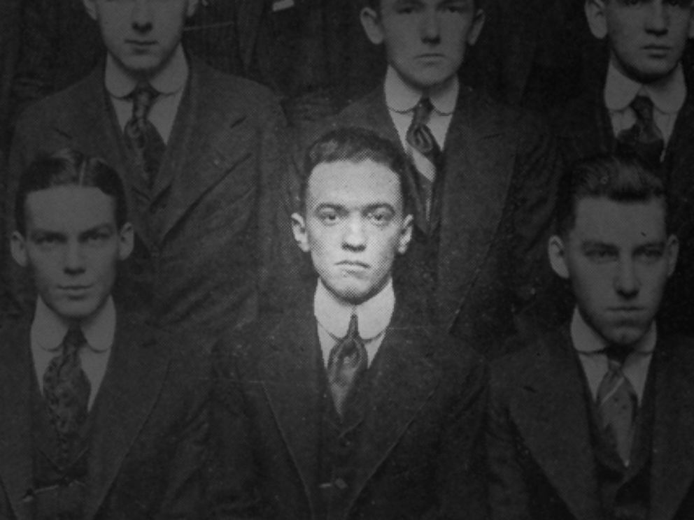 PHOTO: J. Edgar Hoover is seen in a George Washington University Law School yearbook picture from 1916.