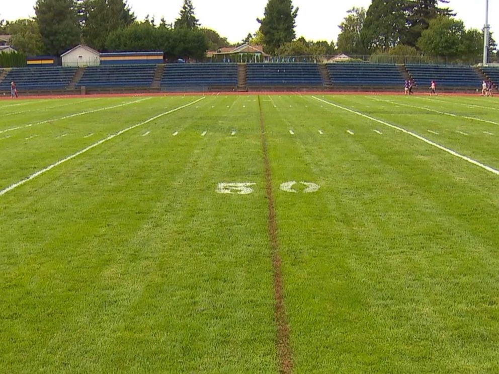 PHOTO: Joe Kennedy, varsity football assistant coach for Bremerton High School in Washington state is fighting against a request sent to him by the Bremerton school district to cease leading pre- and post-football game prayers.