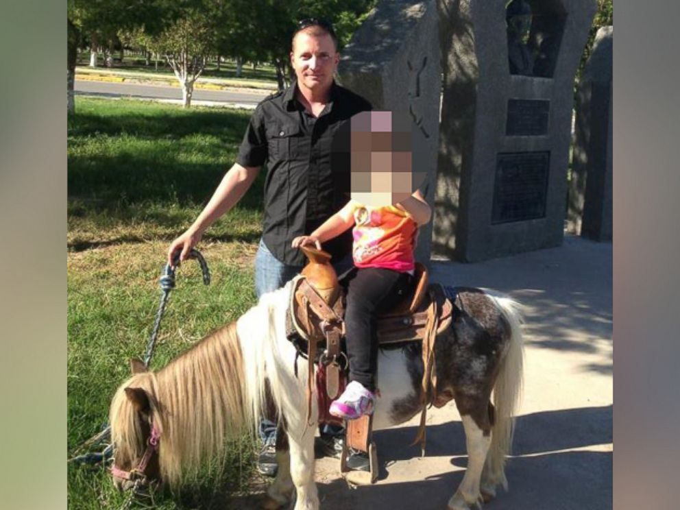PHOTO: Ivan Lopez, alleged Fort Hood shooter, posted this image on his Facebook profile, posing with a child on a pony.
