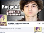 PHOTO: A Facebook group that claims Boston bomber, Dzhokhar Tsarnaevs is innocent, has over 3,000 supporters.