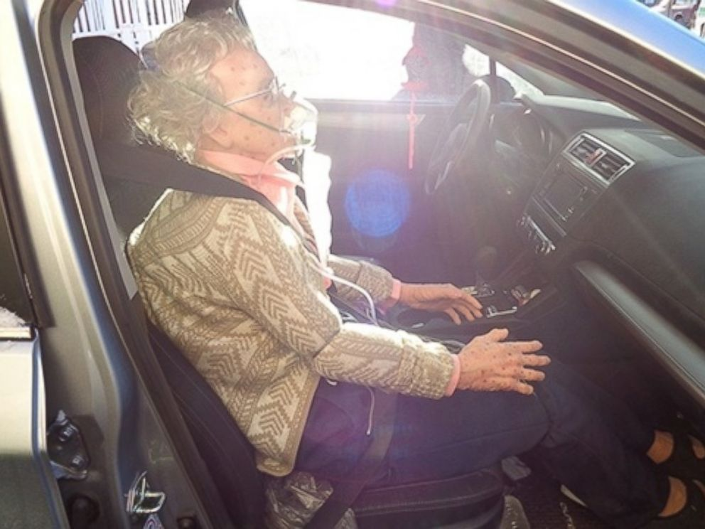 PHOTO: Police in Hudson, New York, thought they were rescuing a woman who had frozen on December 16, 2016, but after smashing the windows of the vehicle, it was determined it was a mannequin.