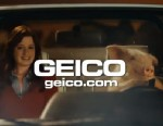 PHOTO: A new advertisement features Maxwell the GEICO pig on a date.