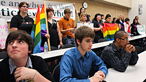Photo: Gay and Transgender Students Fight for Visibility