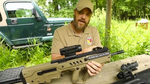 PHOTO: The host of YouTubes popular Military Arms Channel is seen in this undated screen grab from YouTube.