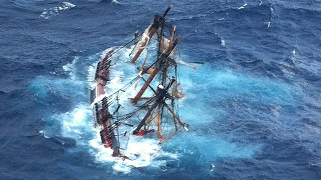 PHOTO: HMS Bounty