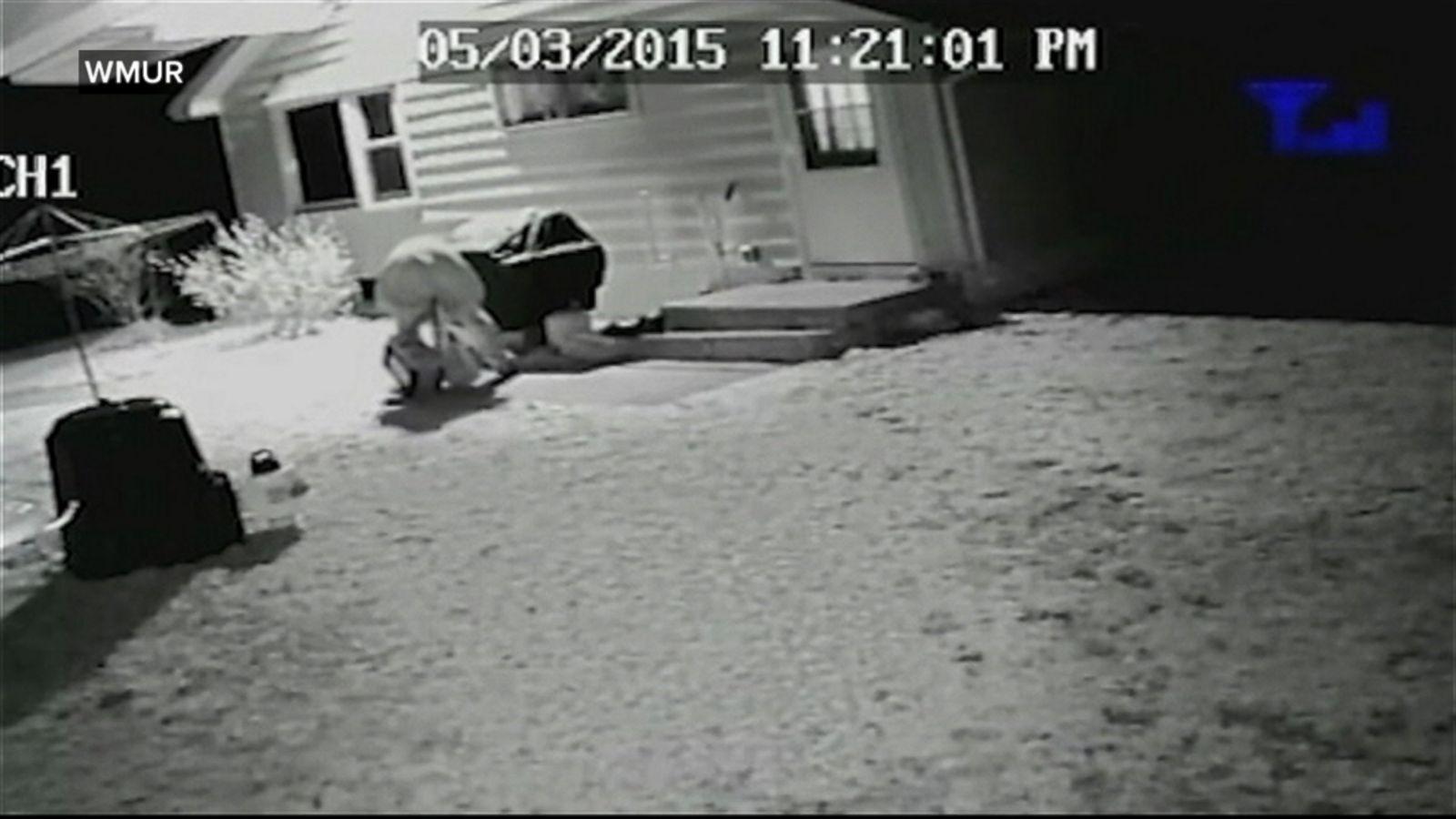New Hampshire Home Invaders Caught on Camera Ambushing Woman - ABC News