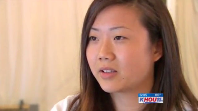 PHOTO: Diane Tran was ordered to spend 24 hours for missing school.