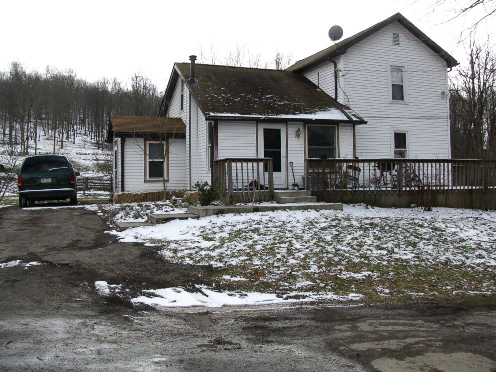 The farmhouse in Wampum where Chris Brown lived with his fiance Kenzie Houk, his son Jordan Brown and her two daughters, Janessa and Adalynn.