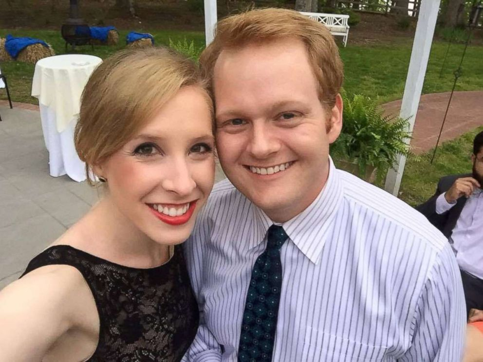 PHOTO: Alison Parker and Chris Hurst are pictured in this undated photo that Hurst uploaded to Facebook.