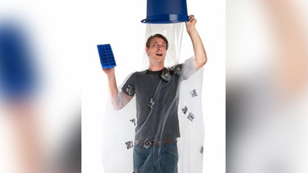 ice bucket challenge becomes a halloween costume abc news