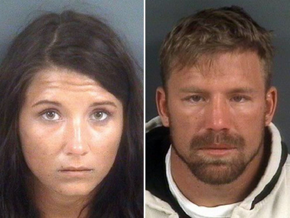 PHOTO: Jeanie Ditty, 23, and her boyfriend, Zachary Keefer, pictured in booking photos released by the Fayetteville Police, were charged in the death of Dittys 2-year-old daughter, Macy Grace.