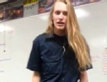 PHOTO: Duncanville High School student Jeff Blisss rant against his teacher has gone viral on YouTube.