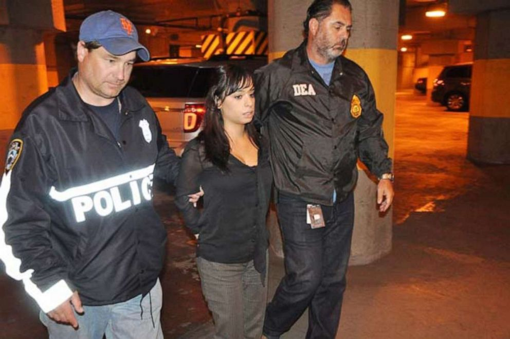 Karina Pascucci is seen here during her 2014 arrest.