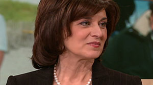 "Vicki Kennedy appears on ""Oprah"" November 25, 2009."