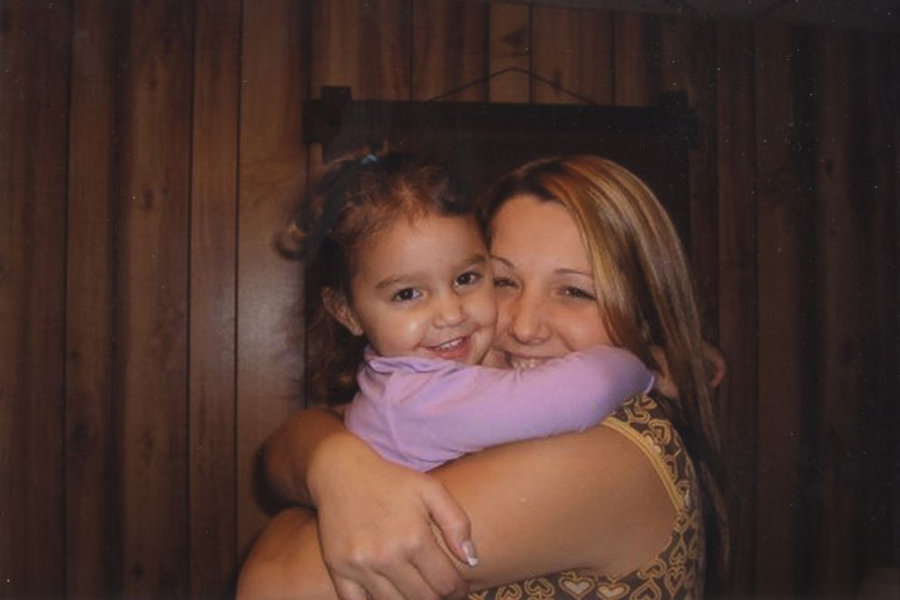 Kenzie Houk is seen here with one of her daughters in this undated family photo.