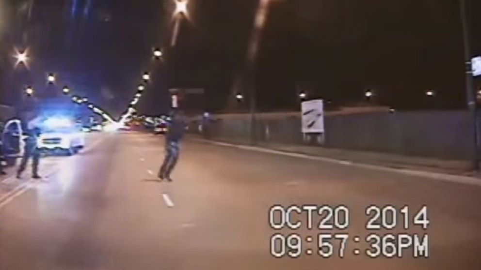 Chicago police released dash cam footage of the fatal Oct. 20, 2014 shooting of Laquan McDonald on Nov. 24, 2015.