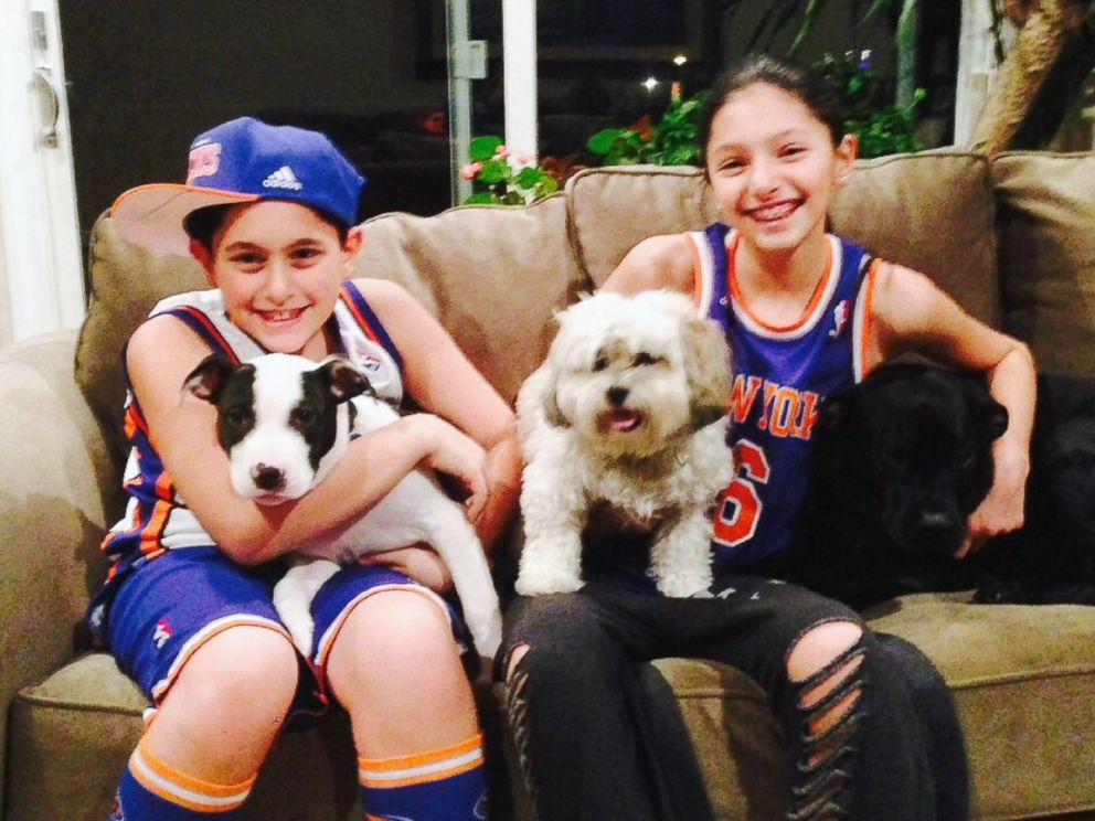 PHOTO: Jon Loew recorded video messages for his two kids: Coby, 9, and Sammy, 11, seen here.