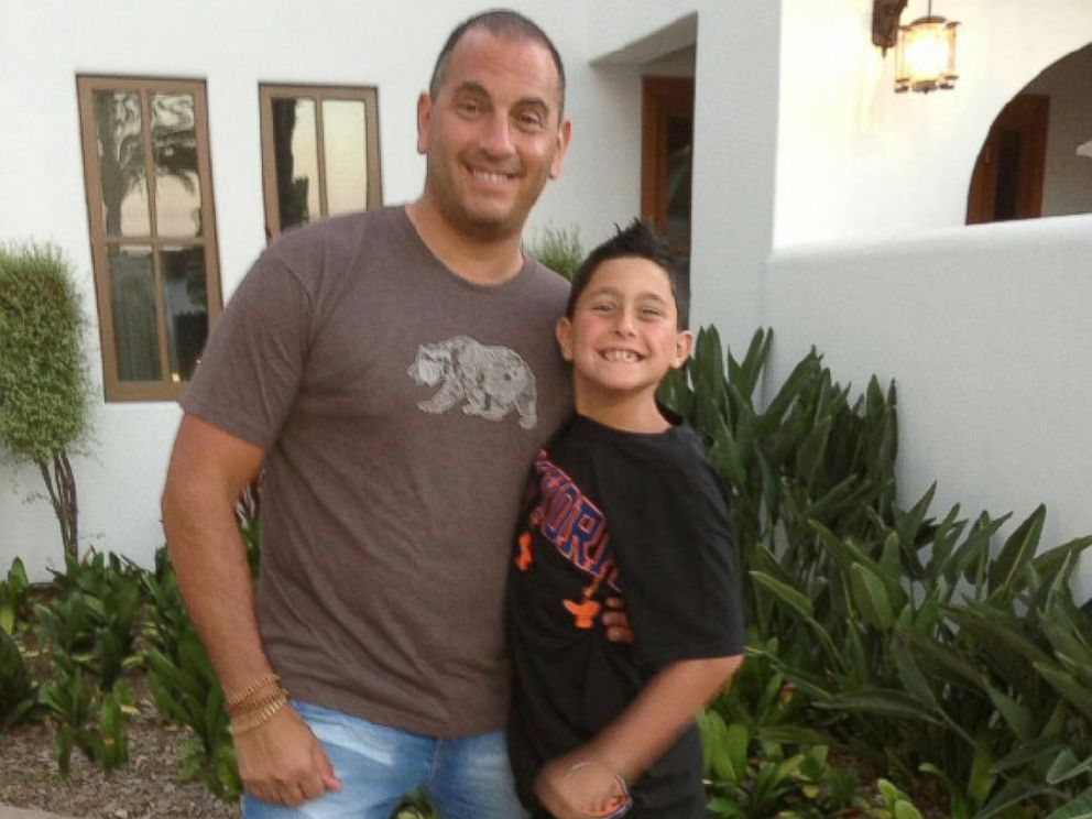 PHOTO: KeepTree founder Jon Loew with his son Coby.