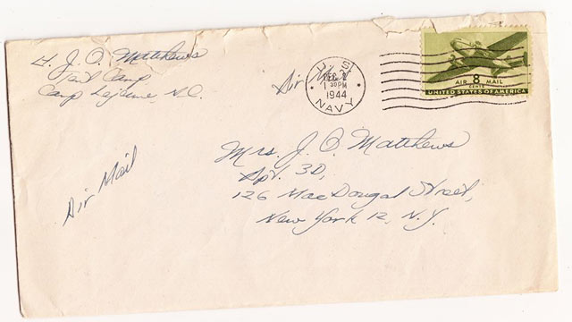 PHOTO: The Lost Letter Project is trying to find the intended recipient of a letter sent 70 years ago.