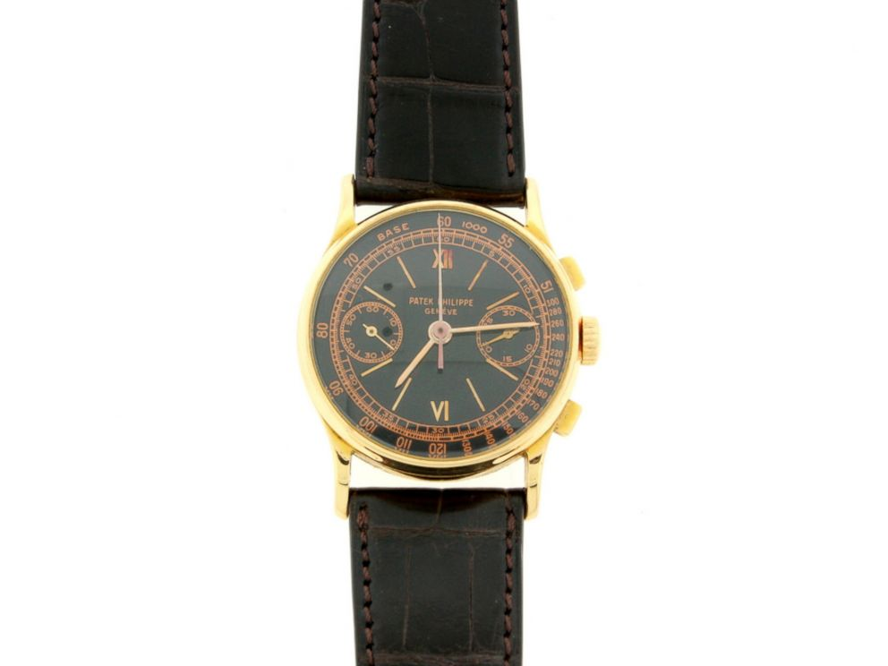 PHOTO: A watch belonging to Bernie Madoff, auctioned off by U.S. Marshals.