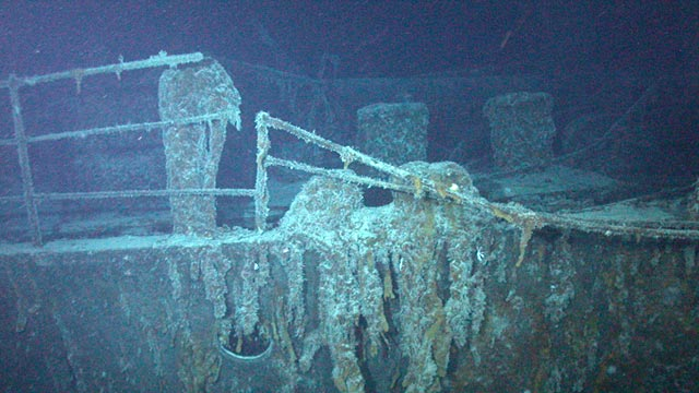 PHOTO: ROV view of SS Mantola