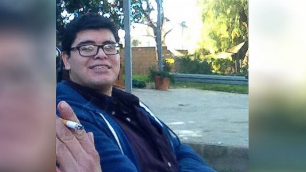 Enrique Marquez, seen here in a photograph taken in January and uploaded to Facebook.