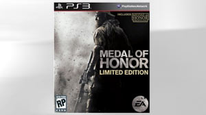 "PHOTO Many service members looking forward to the October release of the new ""Medal of Honor"" video game will have to buy it off-base after most military branches decided not to stock the controversial game"