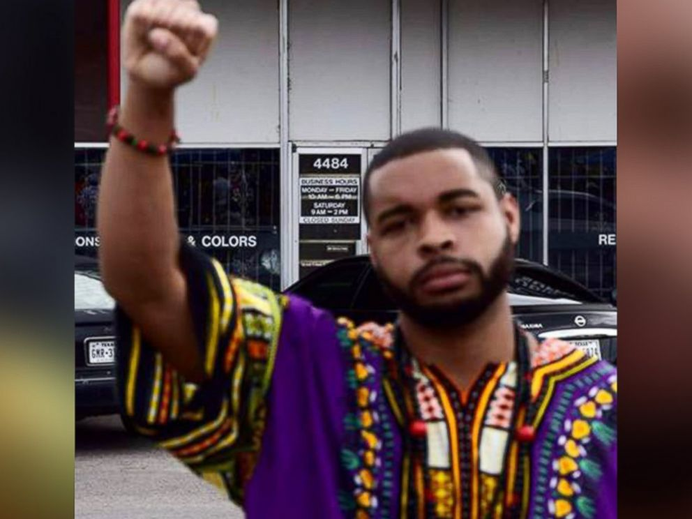 PHOTO: Micah Xavier Johnson, 25, pictured in an undated Facebook photo, was identified as a suspected gunmen in an ambush that left five Dallas law enforcement officers dead.