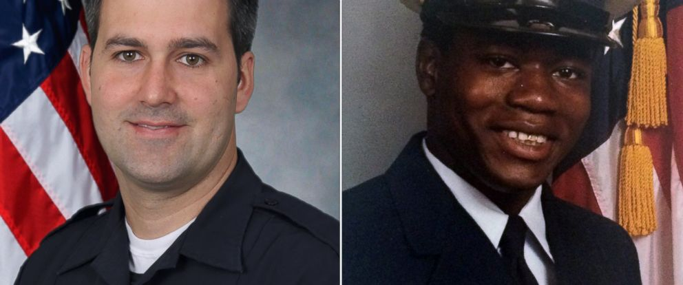 PHOTO: North Charleston Police Officer Michael Slager and Walter Scott are pictured in undated handout photos released after Scott was shot and killed on April 4, 2015 in North Charleston, S.C.