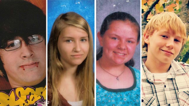 PHOTO: The Benton County Sheriff?s Department is searching for two 15-year-old girls who may have run away with two teenage boys Oct. 13, 2012. Family members believe the boys are driving a gold 1997 Jeep Grand Cherokee with no license plates.