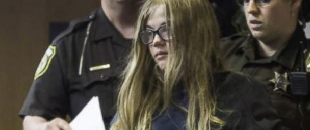 PHOTO: Morgan Geyser and Anissa Weier (not pictured), both 12, appeared in a Wisconsin court on June 2, 2014 on charges that they lured their friend into the woods and stabbed her 19 times.