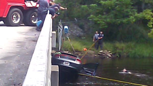 Two Children Drown in Submerged Car; Mother Arrested