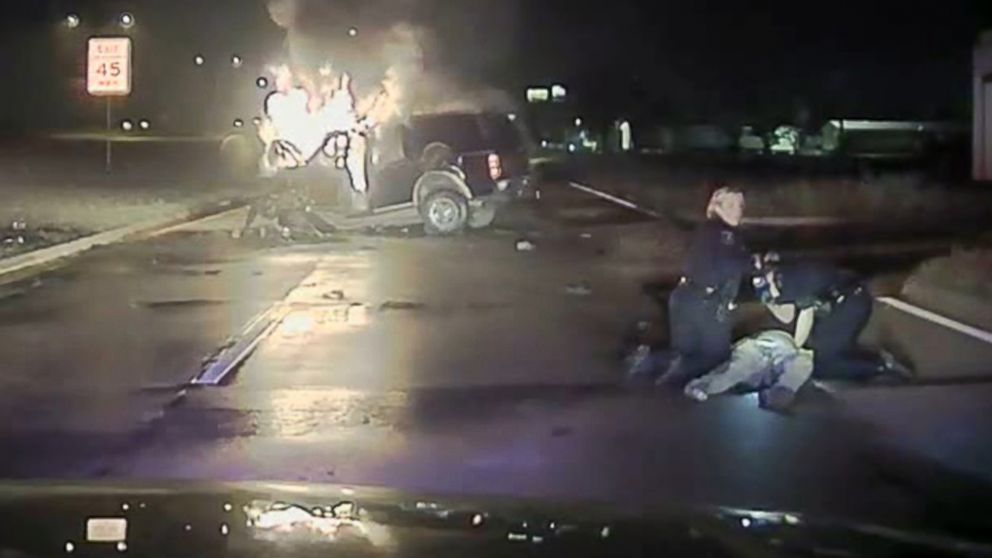 Sell My Car Online >> Dash Cam Footage Shows Harrowing Police Rescue From Burning Vehicle - ABC News